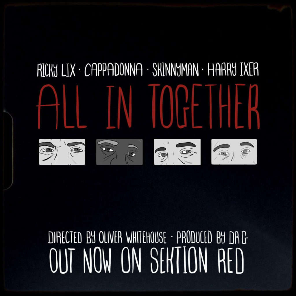 Ricky Lix Connects With Cappadonna, Skinnyman & Harry Ixer For The Animated Visuals 'All In Together'